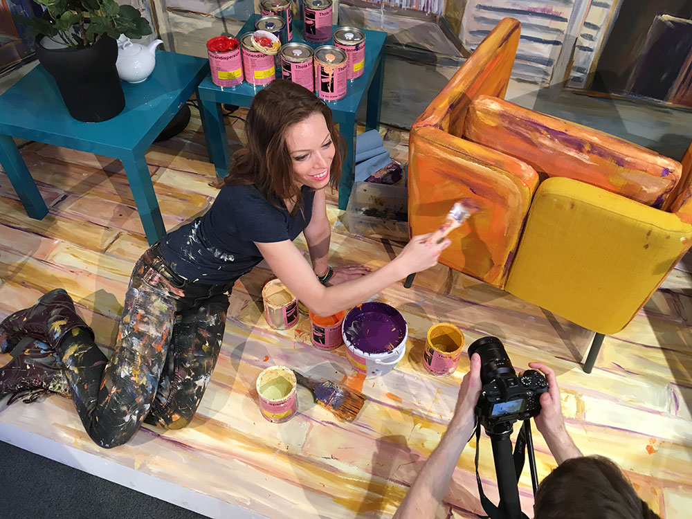 Baselworld: Alexa Meade 3D Live-Painting für Maurice Lacroix SA