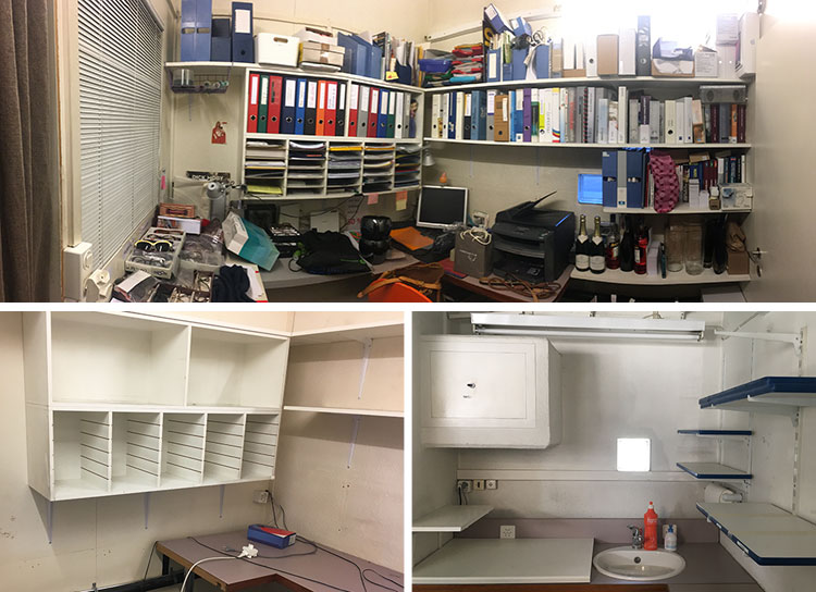 Büro-Umbau: Ausgangssituation. Konzept & Umsetzung: Harrison Spirit