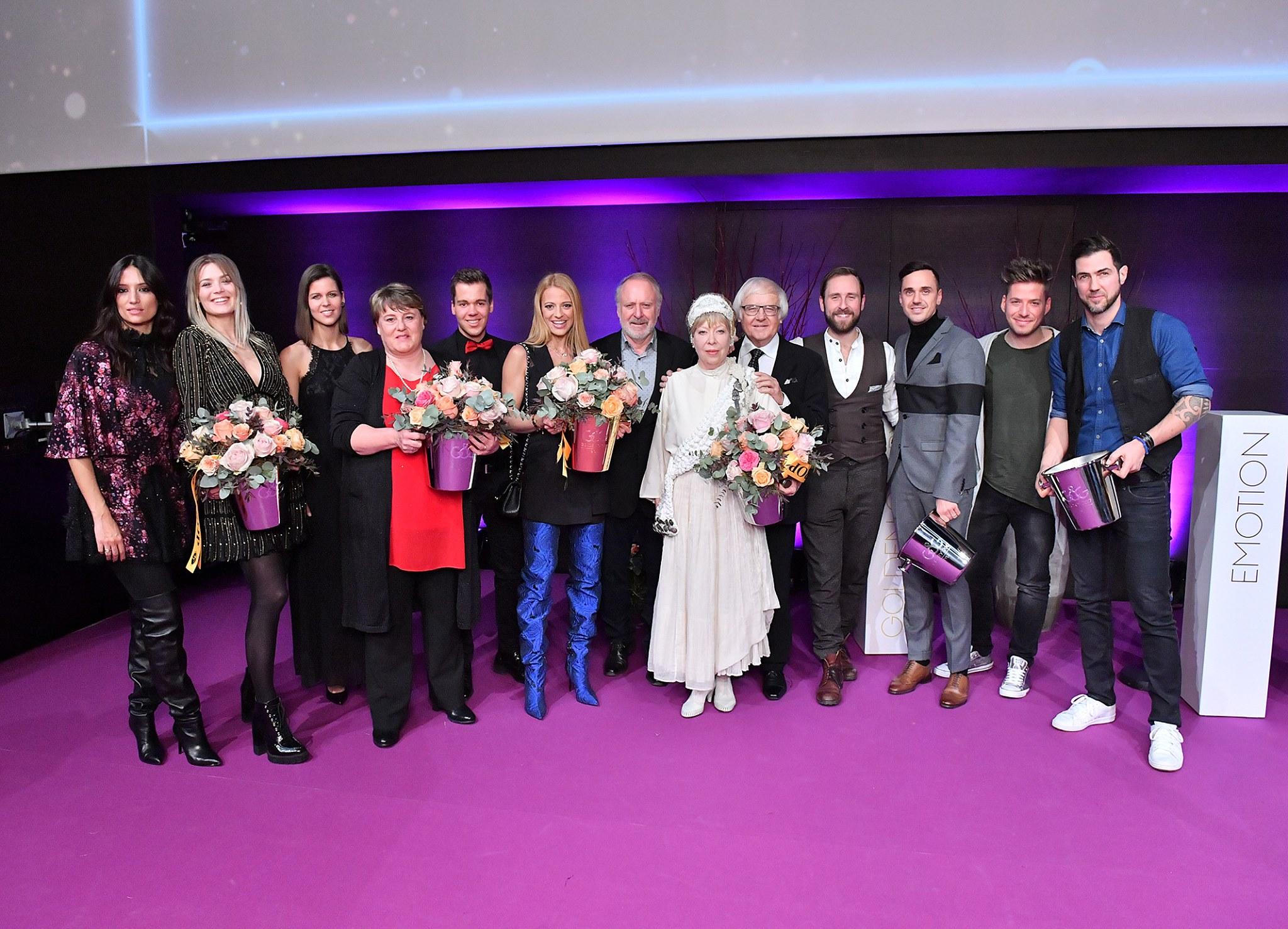 «Glorys»-Gewinner 2018. Foto: SRF/Oscar Alessio