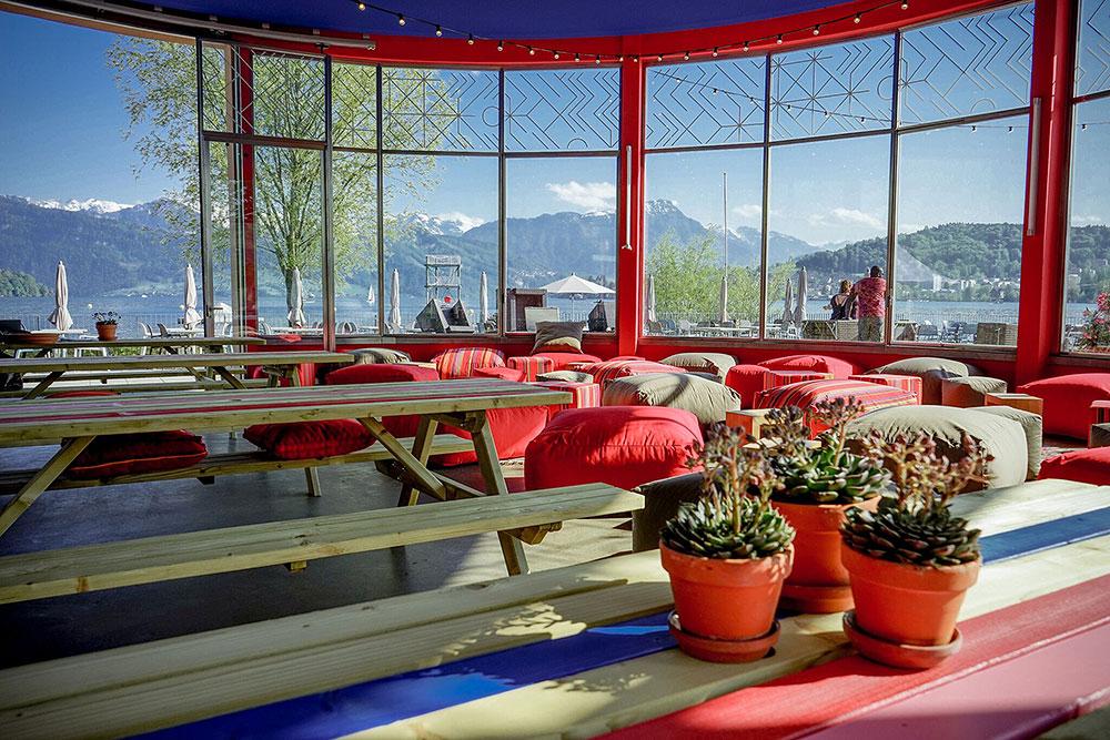 Llama Bar y Cocina im Lido Luzern