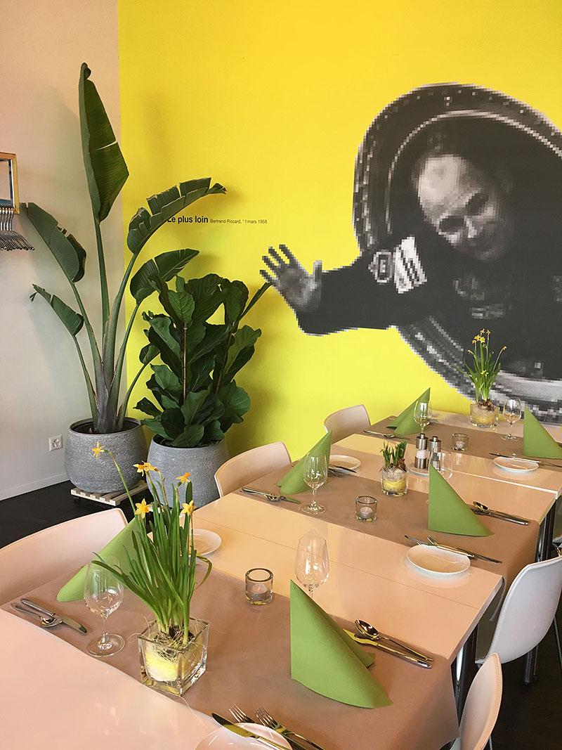 Restaurant Piccard im Verkehrshaus Luzern