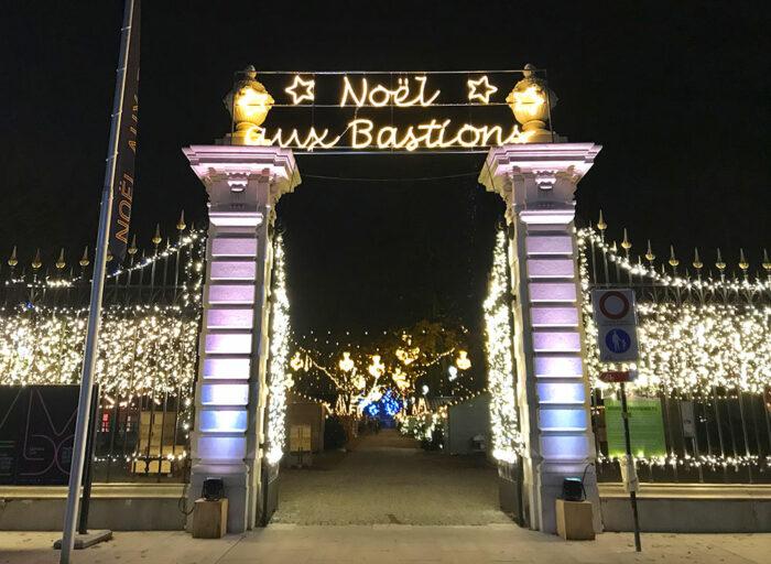 Noël aux Bastions Genève 2018