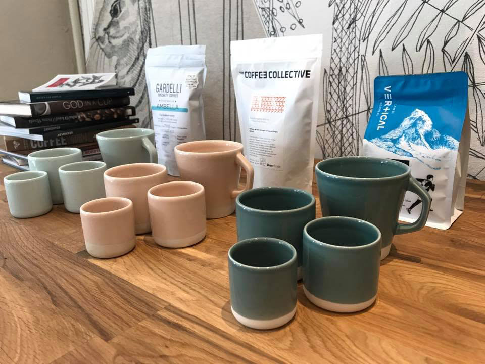 MAME Coffee Interior Concept by Harrison Spirit